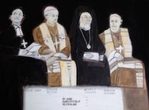 Bischof Huber - Erzbischof Zollitsch - Metropolit Labardakis - Erzbischof Sterzinski
