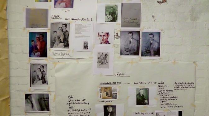 über Bildende Künstler in den  Konzentrationslagern Auschwitz, Theresienstadt, Neuengamme • lecture Judith Haman 24.3.2015