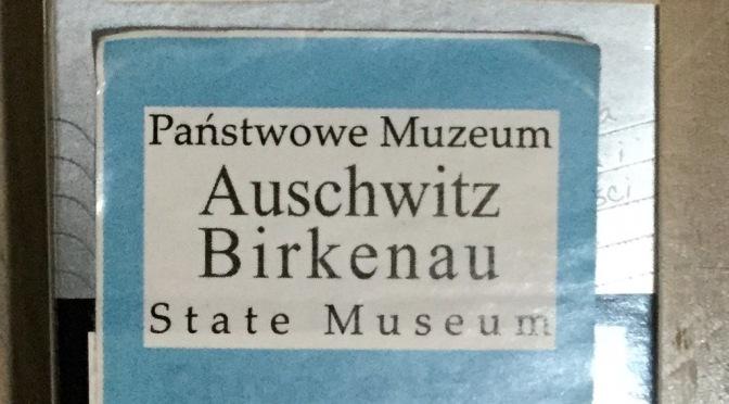 """29.8.15 • 14 -17 UHR • FSK – Radiofeature: """"wasche keine Hände"""" – ein Besuch im KZ-Museum Auschwitz, Juli 2015"""