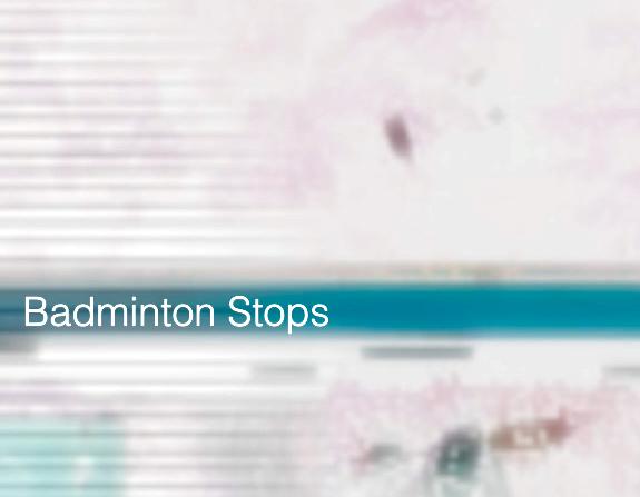 Badminton Stops  – ein Film über sechs Badminton Spiele auf Autobahnrastplätzen
