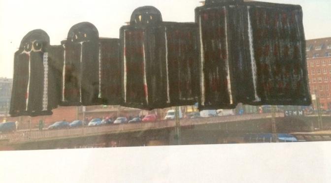 City-Hof Protest: ein Entwurf von Judith Haman für die City Höfe   • 7. Mai 2018