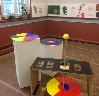 Welche Farben hat die Stadt?  Projekt von Judith Haman  •  April – Juni 2018 im Werkhaus Münzviertel