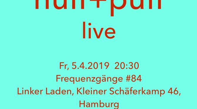 Heiner Metzger – alto clarinet solo @ Frequenzgänge #84   20:30 5.4.2019
